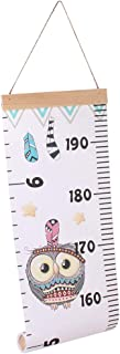 TOYANDONA Baby Height Growth Chart Ruler Wall Hanging Growth Chart Wall Ruler Growth Chart Rulers Room Decoration for Kids Toddler Girls Boys,