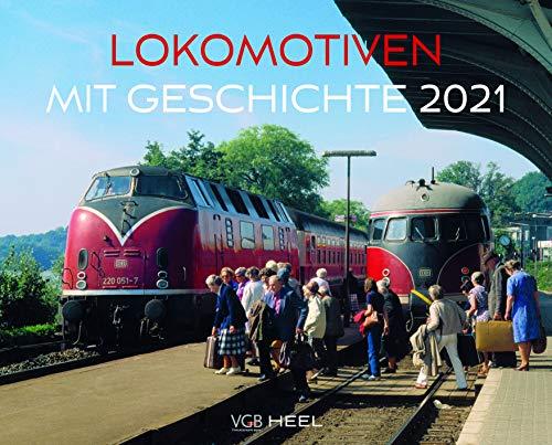 Lokomotiven mit Geschichte 2021: Eisenbahnen aus Europa