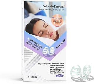 WoodyKnows - Dilatadores nasales de súper apoyo