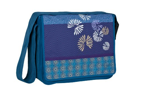 Lässig Sac à Langer Casual Messenger Bag - Bloom - Pétrole - Nouveau Dessin