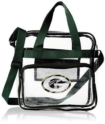 Green Bay Packers NFL Clear HIGH END Messenger Bag