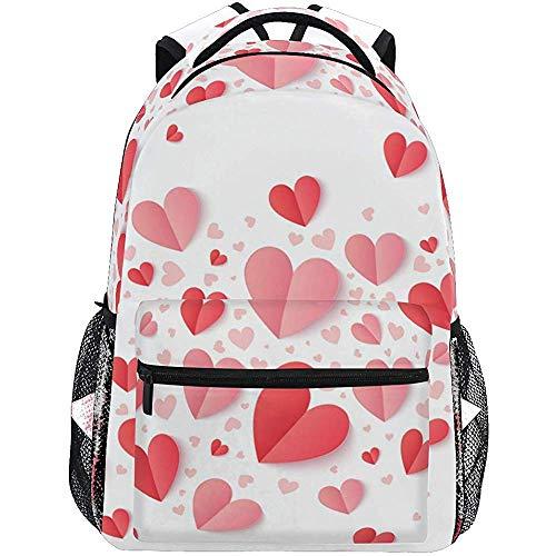 Scuola San Valentino harten roze en Rossi rugzakken voor laptop reizen tieners mannen voor school tas schooltas schoudertas voor dames