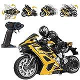 RemoteControlStunt Motorcycle-2.4GhzWirelessRadioControlMotorcycleToysHighSpeedStuntRacingMotorbikeforKidsToyBoys