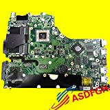 Lysee Laptop Motherboard - X550ZE Motherboard For ASUS X750 With A10-7400P cpu Mainboard fully tested
