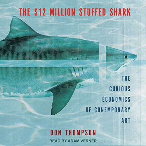 The $12 Million Stuffed Shark audiobook cover art