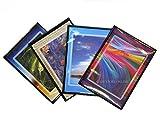 5 Foto Album Personalizzabili Fronte/Retro Portafoto a Tasche 13X19 - 40 Foto Copertina Morbida - Conf. 5 Pz.