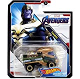 Hot Wheels Character Cars Thanos Marvel Avengers End Game by DieCastMahal