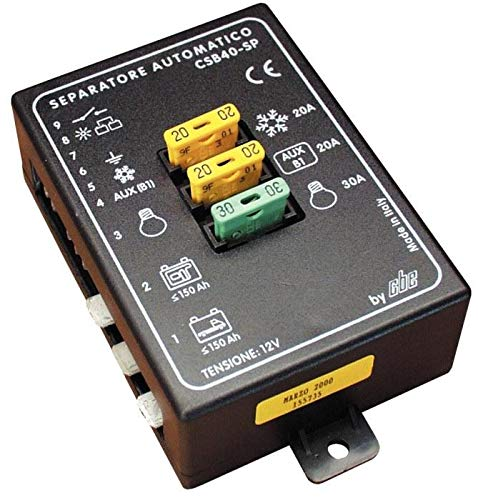 Auto-Trenner mit Batterien, Parabolator CBE CSB40-SP CAMPER