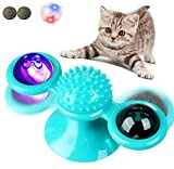 NATUCE 12 Pieces Interactive Cat Toys, Colorful Spring Cat Toy Plastic Coil Spiral Springs Durable Interactive...