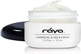 RAYA Under-Eye & Neck Cream (408) | Revitalizing and Fortifying Anti-Aging Treatment for the Eye Area and Neck | Revives Fatigue and Helps Reduce Lines and Wrinkles