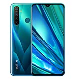 realme 5 Pro Smartphone 6.3'', 8 GB RAM e 128 GB ROM, Processore Octa-Core, Quad Camera 16 MP e 48 MP, Dual Sim, Crystal Green