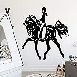 mlpnko Pegatinas de decoración de Estilo Europeo para niñas decoración de la habitación de los niños Impermeable decoración del hogar Tatuajes de Pared 42X46 cm