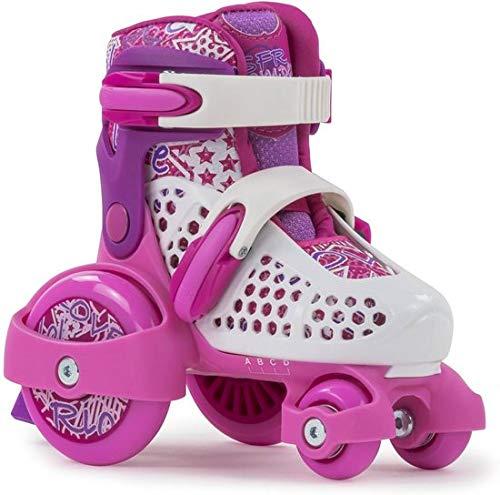 SFR - Stomper Adjustable Childrens Skate, Rosa, 23/27