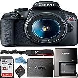 Canon EOS Rebel T7 24.1MP Digital SLR Camera Retail Packaging Bundle (Canon 18-55mm Lens)