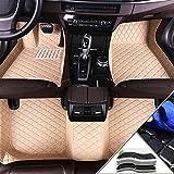 Yuting Estera del Coche Personalizadas Car tapetes for Chrysler Cobertura Completa for Cualquier estación Protección Frontal y Posterior Liner Set (Color : Beige)