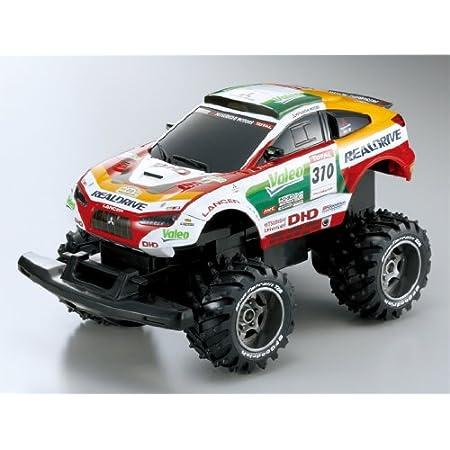 1/16 R/C リアルドライブ 三菱レーシングランサー 2009 ダカールラリー 増岡車