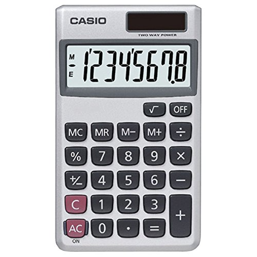Casio SL-300SV Solar Powered Standard Function Calculator / 10 Pack