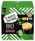 Carte Noire - 96 Capsules Espresso Bio Café Dolce Gusto Compatibles (6 packs de 16)