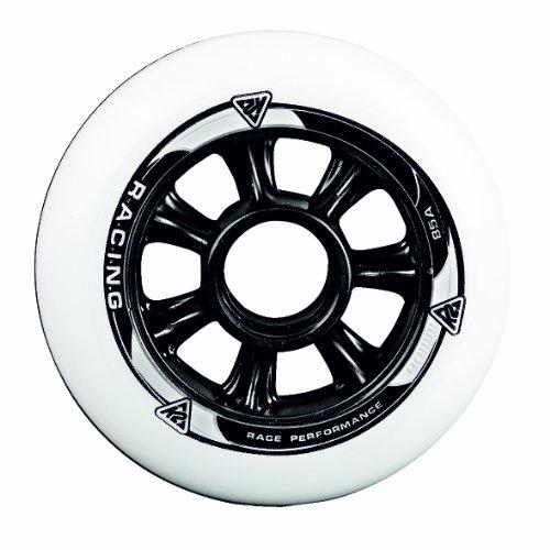 K2 Skates Unisex-Erwachsene 90 MM WHEEL 4-PACK Inline Skates Rollen, Weiß, 90mm