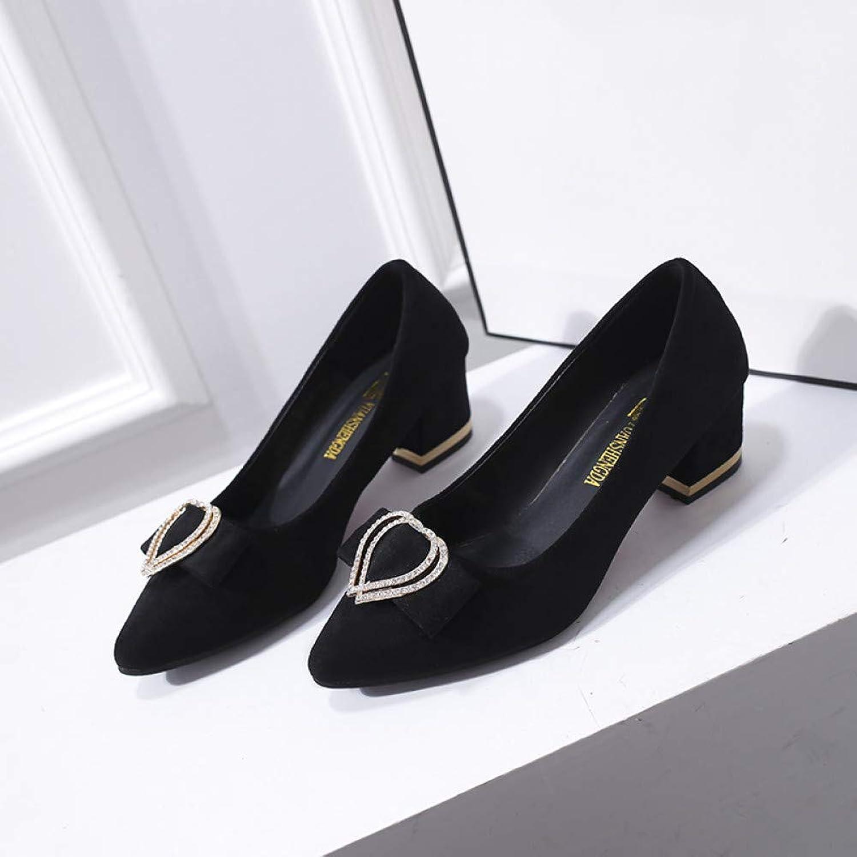 XSY Frauen Kleid Schuhe Schuhe Schuhe Spitz Mittlere Fersen Patchwork Pumps Mode Frau Schuhe Damen Stiefelschuhe  09c227