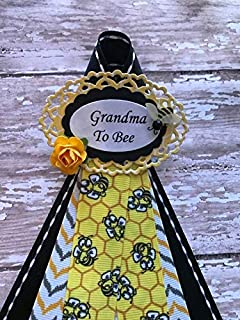 Bumble Bee Theme Guest Baby Shower Corsage, Add a Guest Tag, Bumble Bee Theme, Yellow & Black Theme