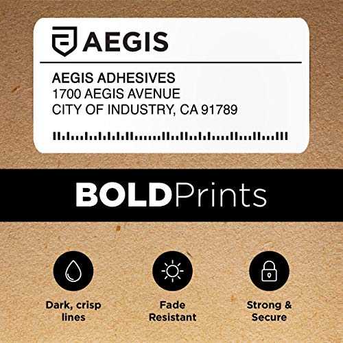 """Aegis - Compatible 30256 (2-5/16"""" X 4"""") Direct Thermal Labels Replacement for DYMO 30256 Shipping - for Rollo, Labelwriter 450 Turbo, 4XL, Zebra Desktop Printers (8 Rolls) Photo #5"""