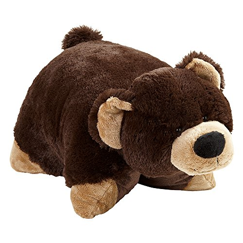 "Pillow Pets Originals Mr. Bear 18"" Stuffed Animal Plush Toy"
