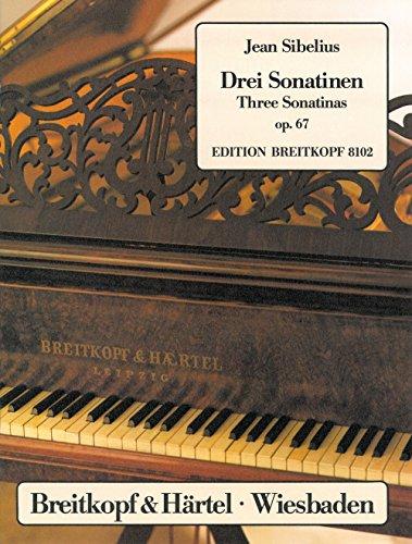 3 Sonatinen op. 67 für Klavier (EB 8102)