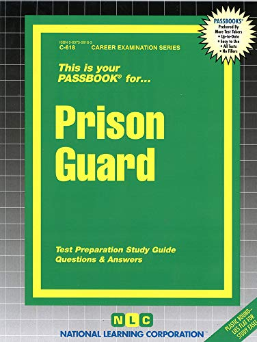 Prison Guard (Career Examination Passbooks)