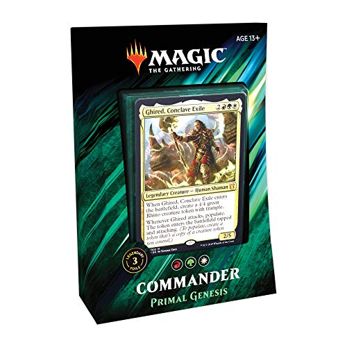 Magic: The Gathering Commander Primal Genesis Deck