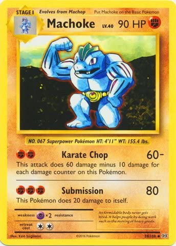 French designer card pokemon /🌈 machopeur reverse-xy12 58//108 evolutions