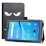 LFDZ Funda Lenovo Tab M7,Soporte Cuero con Slim PU Funda Caso Case para 7' Lenovo Tab M7 (TB-7305F) Tablet,Don't Touch