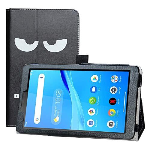 LFDZ Lenovo Tab M7 hülle,Schutzhülle mit Hochwertiges PU Leder Tasche Case für 7