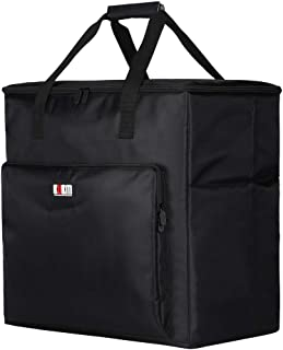 BUBM Desktop PC Computer Travel Storage Carrying Case Bag for Computer Main Processor Case, Monitor, Keyboard and Mouse