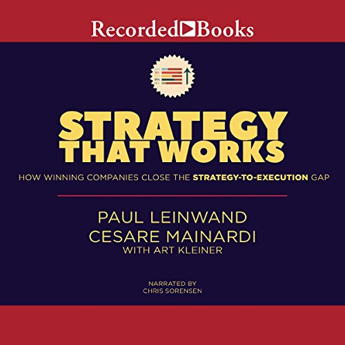 Strategy That Works audiobook cover art