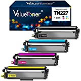 Valuetoner TN-227 TN-223 Compatible Toner Cartridge Replacement for Brother TN227 TN227bk TN223 to use with MFC-L3770CDW MFC-L3750CDW HL-L3230CDW HL-L3290CDW HL-L3210CW MFC-L3710CW Printer (4 Pack)