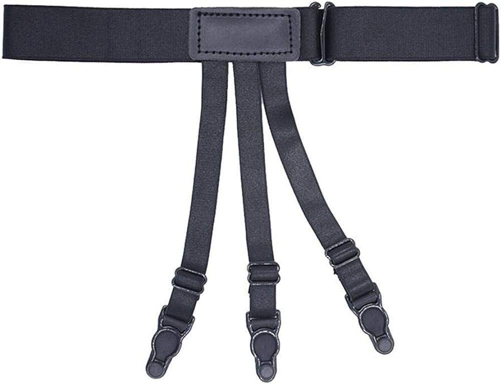 Diamondo Adjuatable Men Shirt Stays Garters Shirts Socks Gentleman Belt Suspenders