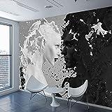 Tapeten,Eigene 4D Wallpaper Abstrakte Charakter Serie