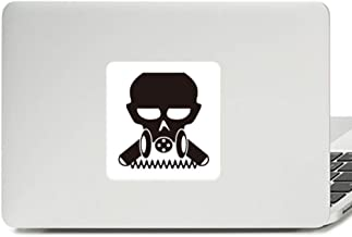 Pollution Biochemical Cyborg Gas Mask Decal Vinyl Skin Laptop Sticker PC Decoration