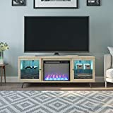 Ameriwood Home 6873847COM Sydney View Fireplace 70',...