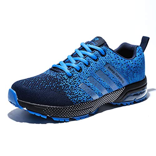 para Hombres Muje Zapatos Monta?a y Asfalto Aire Libre Deporte Running Zapatos para Gimnasio Sneakers Transpirables Casual Zapatos Air Cushion Sneakers Resistente Zapatillas Deportivas de
