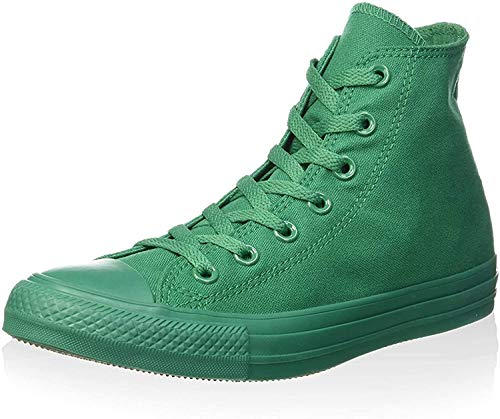 Converse Unisex-Erwachsene Monocrome All Star Hi High-top, grün, 40 EU
