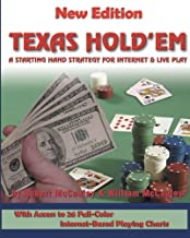 Texas Hold'em: A Starting Hand Strategy for Internet & Live Play
