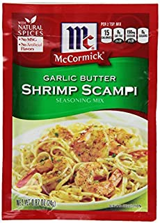 Mccormick Seasoning Mix, Garlic Butter Shrimp Scampi, 0.87-Ounce (Pack of 12) by McCormick