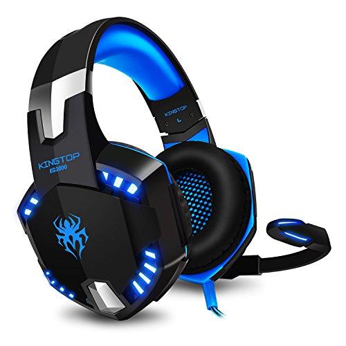 KINGTOP Auriculares Gaming PS4 con Microfono KG2000 Versión...