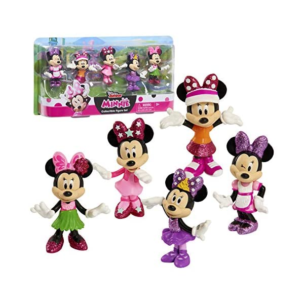 Just Play Disney Minnie Mouse Collectible Figure Pack Set 1