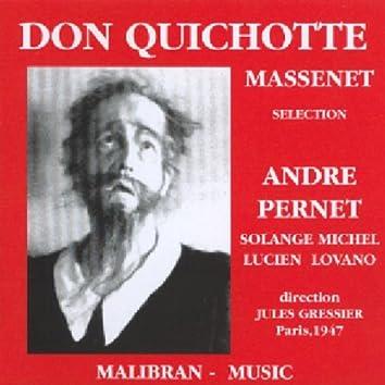 Jules Massenet : Don Quichotte (Paris 1947)