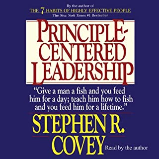 Principle-Centered Leadership audiobook cover art