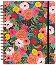 Juliet Rose Weekly 17 Month Jumbo Spiral Planner with Stickers by Rifle Paper Co.