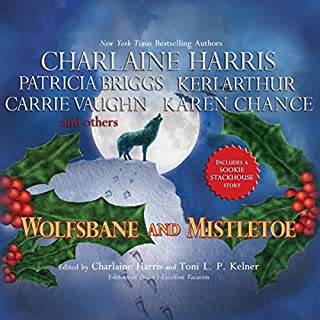 Wolfsbane and Mistletoe audiobook cover art